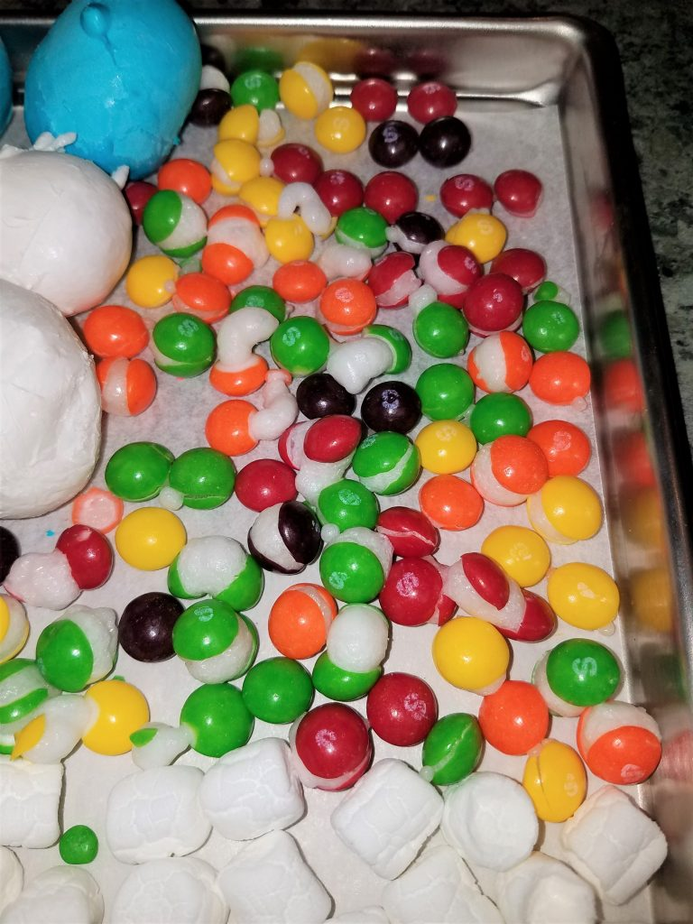 Freeze dried candy is so much fun
